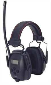 Electronic Ear Muff am fm black 25db Honeywell Howard Leight 1030331