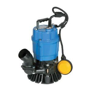 Tsurumi Hsz2 4s 62 53 Gpm 2 Submersible Trash Pump W Float Switch