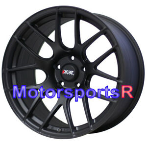 Xxr 530 S Flat Black 18 X 9 75 20 Rims Wheels 08 14 15 Mitsubishi Evolution 10