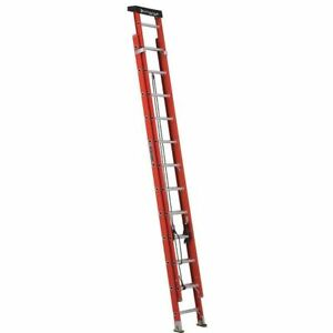 Extension Ladder Fiberglass 24 Ft Ia Louisville L 3022 24pt
