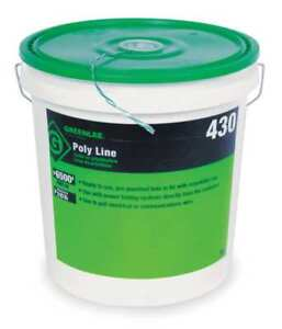 Greenlee 430 Fishing Line 6500 Ft 210 Lb Cap