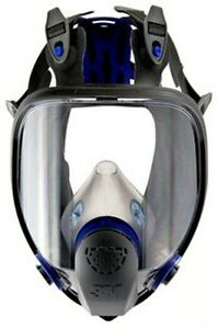 3m Ff 403 Large Ultimate Respirator Face Piece Full Mask Reusable New