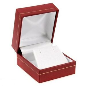 Classic Cartier Design Red Stud Earring Jewelry Gift Box Display