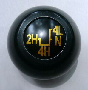 Shift Knob For Transfer Case Suzuki Samurai 1986 1988 Black New Genuine Oe