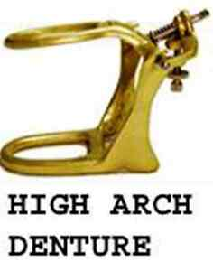Dental Articulator Brass Denture High Arch 6 Sets Meta Dental 603 Hab