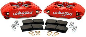 Wilwood Bolt On Dhpa Forged Front Caliper Kit 90 01 Acura Integra Da Dc2 Red