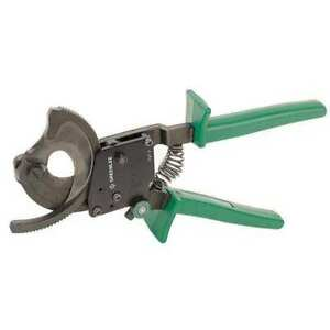 10 1 2 Ratchet Action Cable Cutter Center Cut Greenlee 759