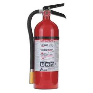 Fire Extinguisher 3a 40b c Dry Chemical 5 Lb Kidde 46611220