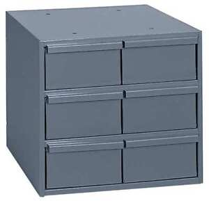 Drawer Bin Cabinet 11 5 8 In D gray Durham 001 95
