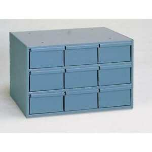Drawer Bin Cabinet 11 5 8 In D gray Durham 004 95