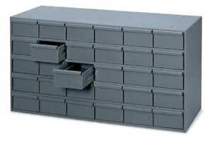 Durham Mfg 014 95 Drawer Bin Cabinet 11 5 8 In D Gray