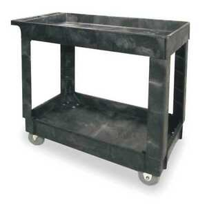 Utility Cart 500 Lb Load Cap Rubbermaid Fg9t6600bla