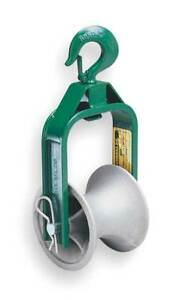 Cable Puller Sheave hook Type 12 In Greenlee 651