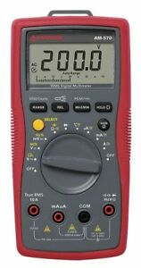 Amprobe Am 570 Industrial Digital Multimeter 1000v 10a
