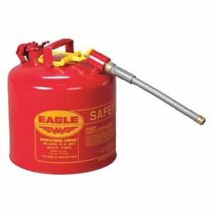 Eagle U2 51s Type Ii Safety Can Red 5 Gal