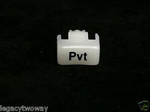 Motorola Pvt Replacement Button For Spectra Astro Spectra Syntor 9000