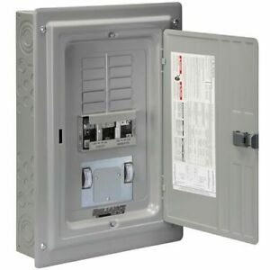 Reliance Controls 60 amp Utility 50 amp gfi Gen Indoor Transfer Panel W Me