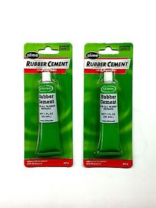Slime 1051 a 1oz Tube Rubber Cement Rubber Tire Bike Repair buy 1 Get 1 Free