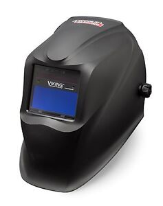 Lincoln Viking Black 1740 Variable Shade Auto Darkening Welding Helmet K3282 2