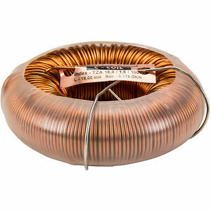 Jantzen 6595 18mh 14 Awg C coil Toroidal Inductor