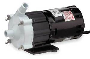 Little Giant 3 mdx 1 25 Hp Polypropylene Magnetic Drive Pump 115v 5 8 Od