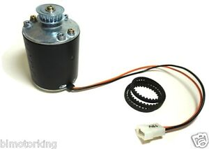 1 8hp Motor 2000rpm 12v Pmdc Rotation Cw Htd 5mm Pitch Pulley And Belt