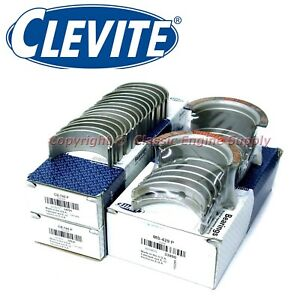 New Clevite 010 Under Size Rod Main Bearing Set 327 302 283 265 Chevy Sb