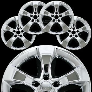 4 Fits Dodge Charger 11 14 Chrome 17 Wheel Skins Hub Caps Rim Covers Alloy Rims