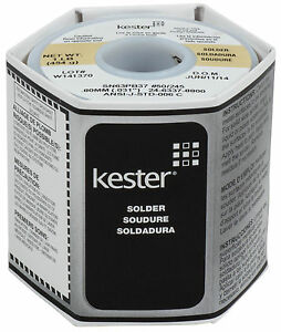 Kester 245 No clean Core Solder 63 37 031 1 Lb Spool