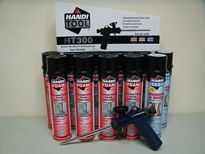 Fomo Handi Foam 2 Window Door 9 Gap Fill With Ht300 Gun It s Great Stuff