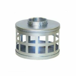Apache Hose 6 Plated Steel Square Hole Strainer