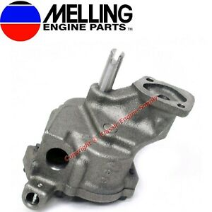 New Melling M77 Stock Volume Oil Pump 1965 1976 Chevy Bb 396 402 427 454