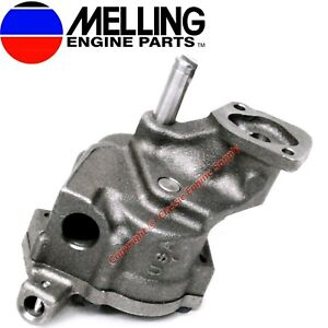 New Melling M77hv High Volume Oil Pump Chevy Bb 366 396 402 427 454 496 Vortec