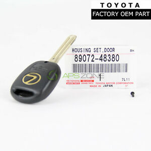 Genuine Lexus Rx300 1999 2000 2001 2002 2003 Blank Key Shell Oem 89072 48380