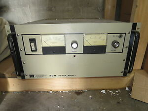 Scr 20 250 Power Supply untested