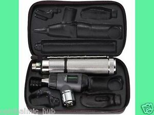 Welch Allyn 3 5v Macroview Otoscope With C cell Handle In Case 25090 mbi