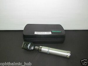 Welch Allyn 3 5v Coaxial Ophthalmoscope Set With Handle 11770 Free Shipping