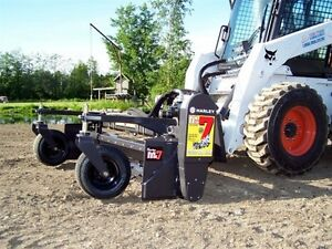 Skid Steer Soil Conditioner The Harley Rake 90 Manual Angle