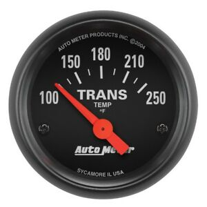Auto Meter Z Series 52mm 100 250 Deg Transmission Temp Gauge