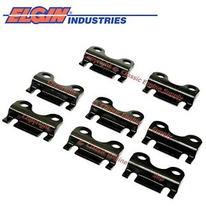New Raised Style Guide Plate Set For 5 16 Pushrods Chevy Sb 283 305 327 350 400