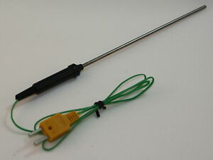 K type Thermocouple With 6 Stainless Steel Sensor For Digital Thermometer Tc 7