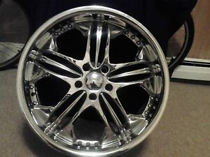 20 Sporza Rims Chrome Sold