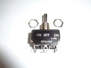 Heavy Duty Momentary Toggle Switch In Factory Sealed Package 2 Pole 3 Position