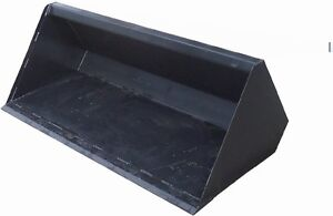 Skid Steer Snow Bucket Standard Size 108
