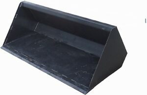 Skid Steer Snow Bucket Standard Size 101