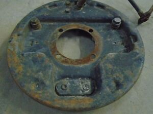 1941 1948 Ford Juice Hydraulic Brakes Backing Plate Rf Chromeable V8