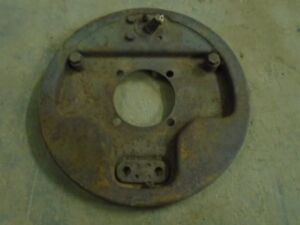 1939 1940 Ford Bare Hydraulic Brakes Backing Plate Rf Pitted Juice Flathead