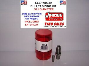 LEE 90039 * LEE PRECISION BULLET SIZING DIE KIT * .311 DIAMETER * 90039