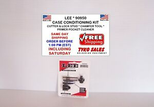 90950 * LEE CASE CONDITIONING KIT * CUTTER * LOCK STUD * CHAMFER TOOL * POCK CLE