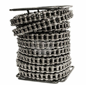 60 Roller Chain 100 Feet With 10 Connecting Links